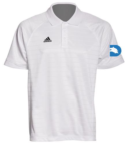 DadsClubWhiteCollarShirt - Adidas Men's Select Polo
