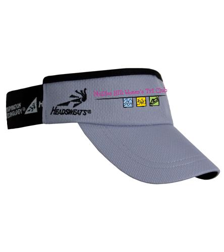 Gray visor - Headsweats SuperVisor