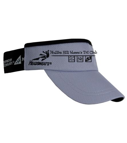 Gray and black visor - Headsweats SuperVisor
