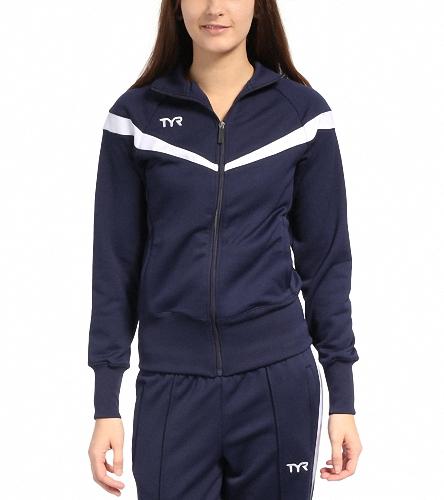 Mullica Hill Womens Tri Club - TYR Freestyle Female Warm Up Jacket