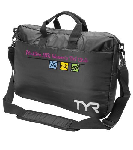 Mullica Hill Womens Tri Club - TYR Laptop Briefcase