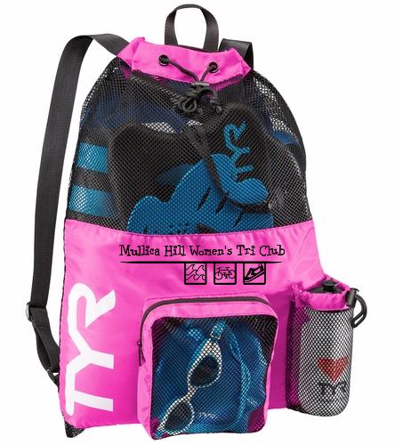 tyr bag - TYR Big Mesh Mummy Backpack III