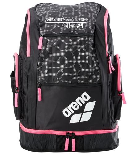 Black X Arena Bag - Arena Solid Spiky 2 Large Backpack