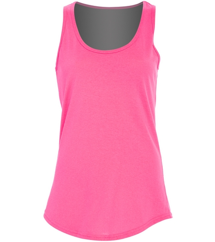 racerback - SwimOutlet Women's Cotton Tank Top - Brights