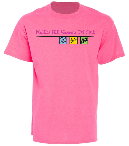 hot pink tee -  Cotton T-Shirt - Brights