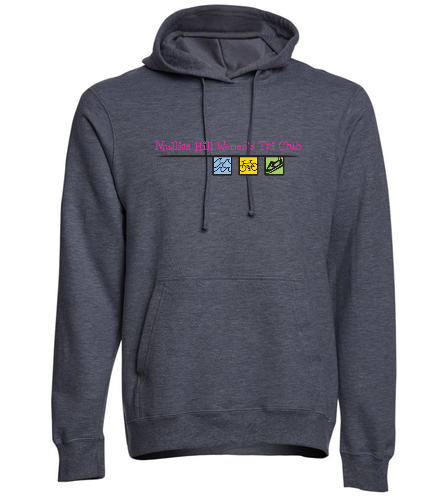 DarkGrey Hoodie - SwimOutlet Adult Fan Favorite Fleece Pullover Hooded Sweatshirt