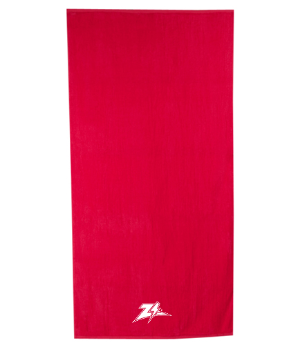 Zizzer Towel  - Royal Comfort Terry Velour Beach Towel 32 X 64