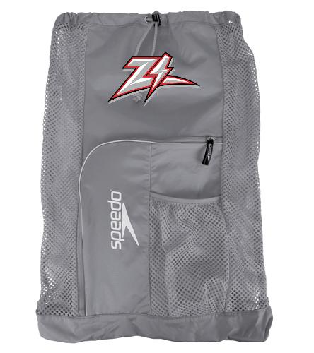 Zizzer Gray Mesh Bag - Speedo Deluxe Ventilator Mesh Bag