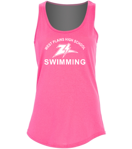 ZizzerPinkOut - SwimOutlet Women's Cotton Tank Top - Brights