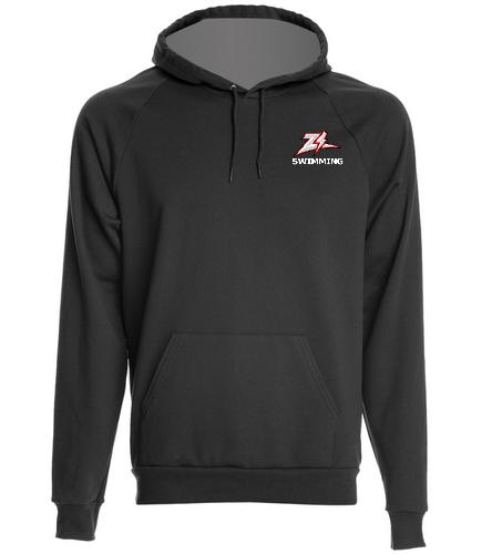 ZizzerSwimBlk - SwimOutlet Unisex California Fleece Pullover Hoodie