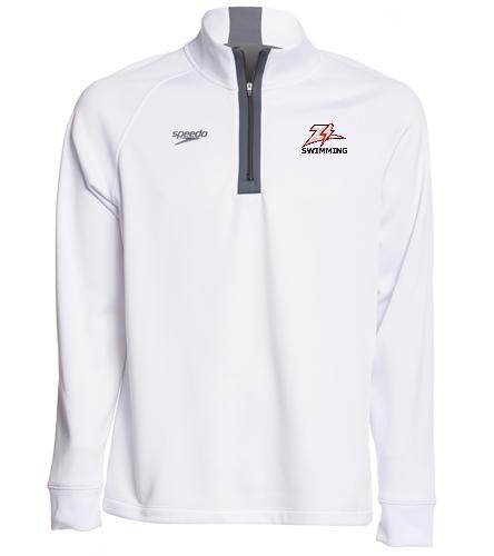 ZizzerSwim - Speedo Unisex 3/4 Zip Sweatshirt