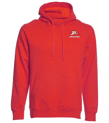 ZizzerSwimRed - SwimOutlet Adult Fan Favorite Fleece Pullover Hooded Sweatshirt