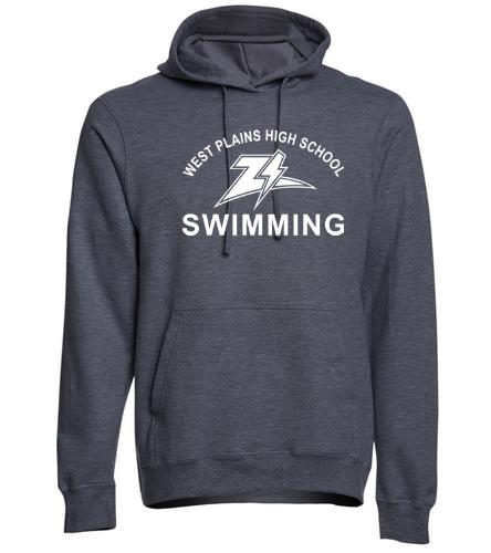 Zizzer Swimming - SwimOutlet Adult Fan Favorite Fleece Pullover Hooded Sweatshirt