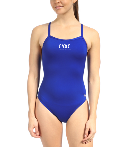 Female Adult Team Suit   - Speedo Solid Endurance + Flyback Training Swimsuit