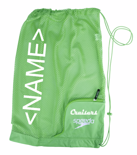 Green Mesh Name - Speedo Ventilator Mesh Bag
