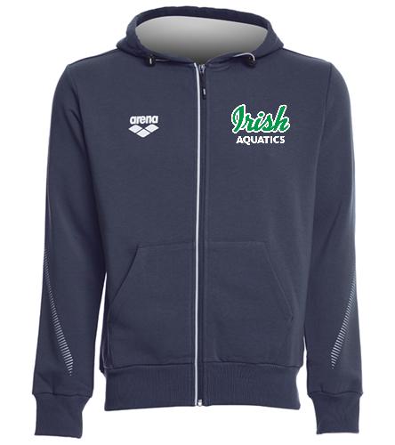 Irish Aquatics - Arena Unisex Team Line Fleece Hooded Jacket