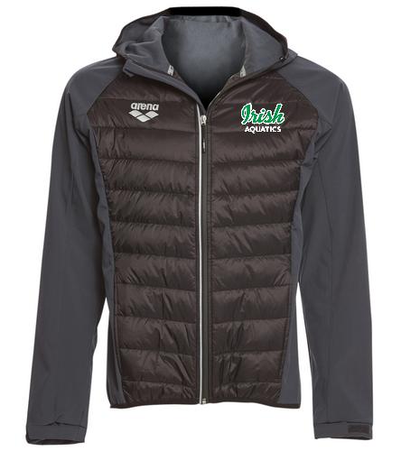 Irish Aquatics  - Arena Unisex Team Line Quilted Soft Shell Jacket