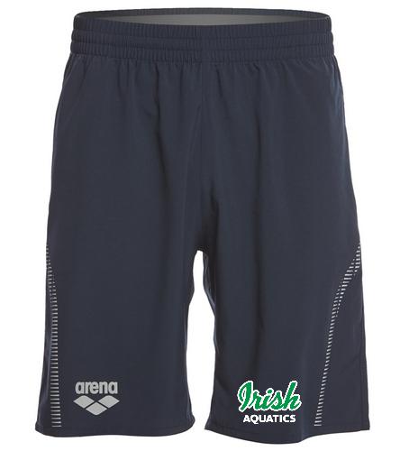 Irish Aquatics Navy - Arena Unisex Team Line Long Bermuda Short