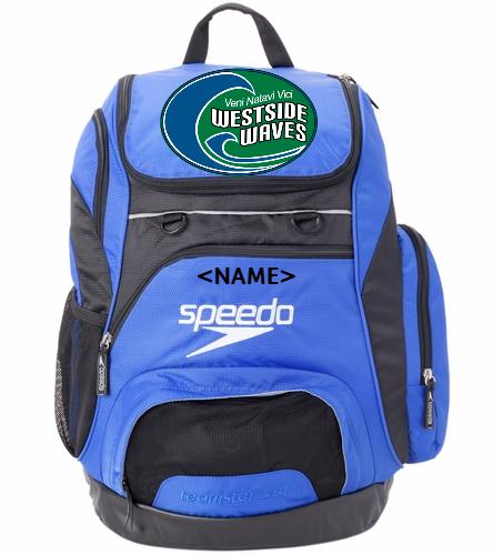 Westside Waves - Speedo Large 35L Teamster Backpack