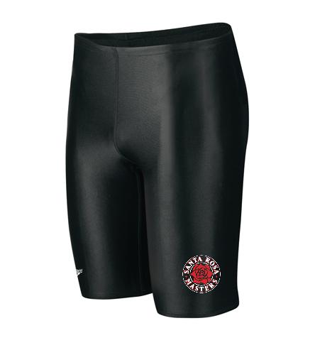 SRM Mens Speedo Logo - Speedo PowerFLEX Eco Solid Men's Jammer Swimsuit