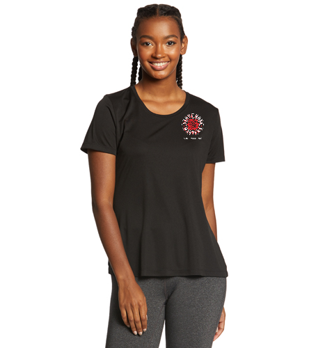 SRM Ladies Tee - SwimOutlet Ladies PosiCharge® Competitor™ Tee