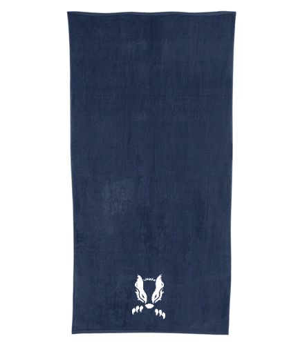 2019 Honey Badger - Royal Comfort Terry Velour Beach Towel 32 X 64