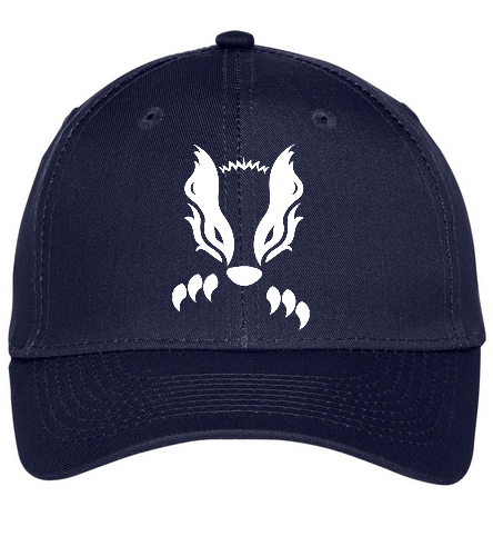 2019 Navy Honey Badger  - SwimOutlet Unisex Performance Twill Cap
