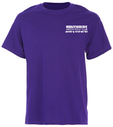 2019 Back Logo Purple - SwimOutlet Unisex Cotton T-Shirt - Brights