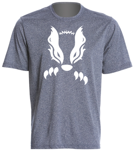 2019 Navy Honey Badger  - SwimOutlet Men's Tech Tee