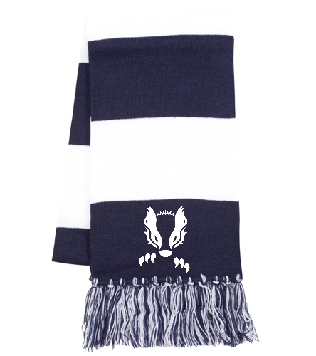 2019 Navy Honey Badger  - SwimOutlet Spectator Scarf