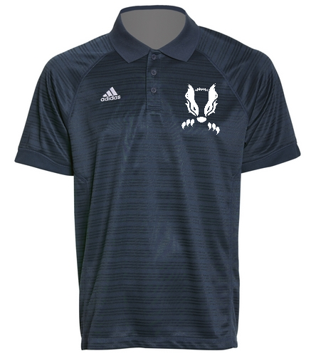 2019 Navy Honey Badger  - Adidas Men's Select Polo