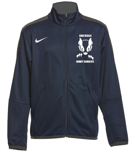 2019 Navy Honey Badger with Text  - Nike Youth Unisex Training Jacket