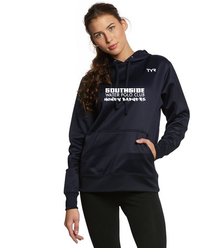 Navy Text  - TYR Women's Alliance Pullover Hoodie