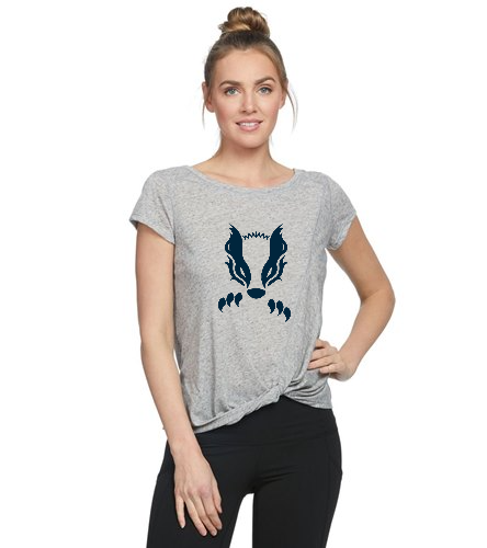 Gray New Badger  - Body Glove Active Gale Heather T-Shirt