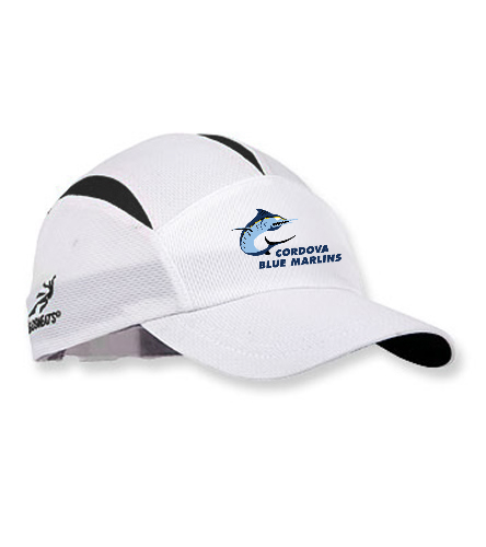 CBM White Hat  - Headsweats Go Hat