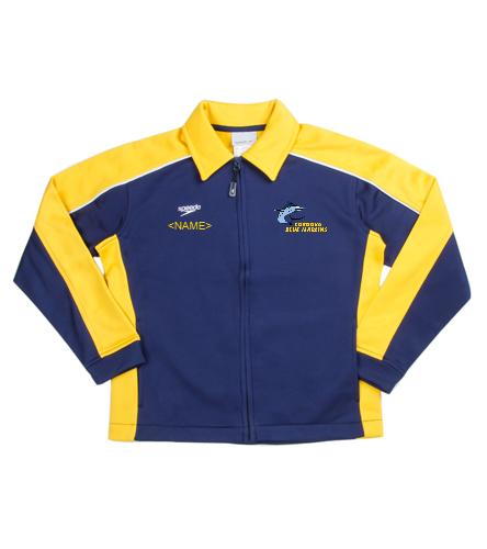 CBM Youth Jacket  - Speedo Streamline Youth Warm Up Jacket