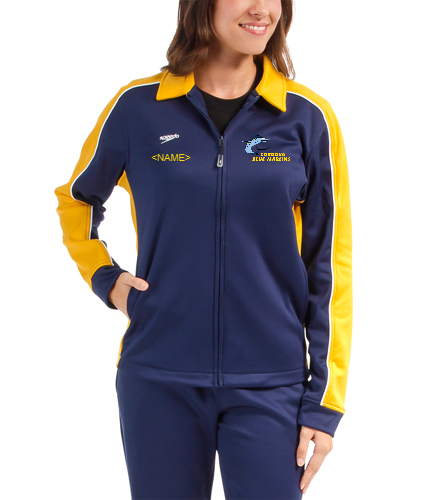 CBM Female Jacket  - Speedo Streamline Female Warm Up Jacket