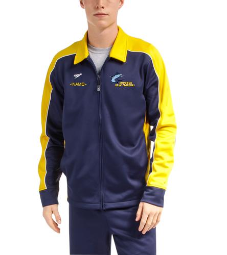 CBM Men's Jacket  - Speedo Streamline Male Warm Up Jacket