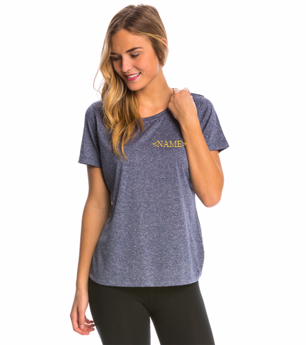 Cordova Blue Marlins - Ladies Tech Tee with Logo and Name Customization - SwimOutlet Women's Tech Tee
