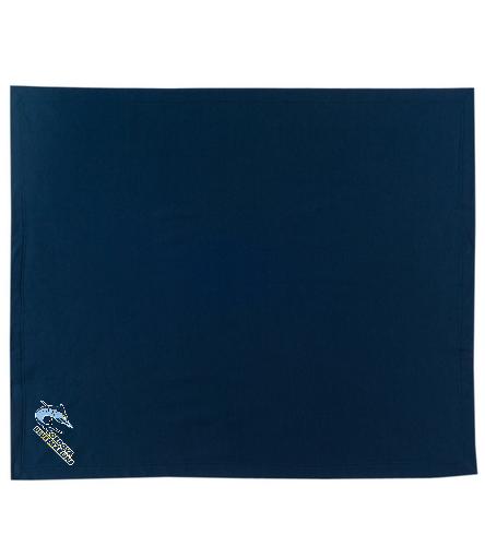 Cordova Blue Marlins - SwimOutlet Stadium Blanket