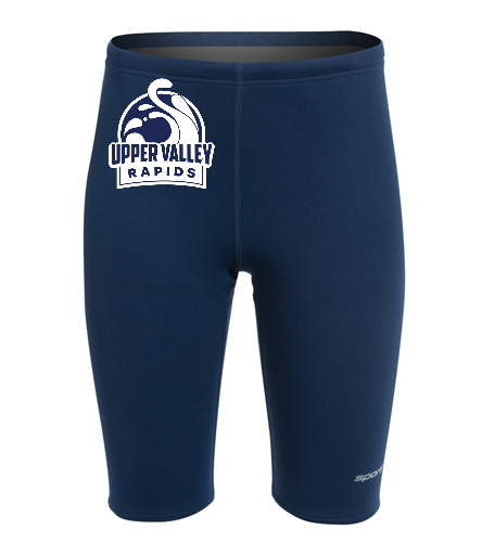 Upper Valley Rapids Boys/Youth Jammer - Sporti Poly Pro Solid Jammer Swimsuit Youth (22-28)
