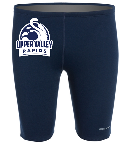Upper Valley Rapids Mens' Jammer - Sporti Poly Pro Solid Jammer Swimsuit