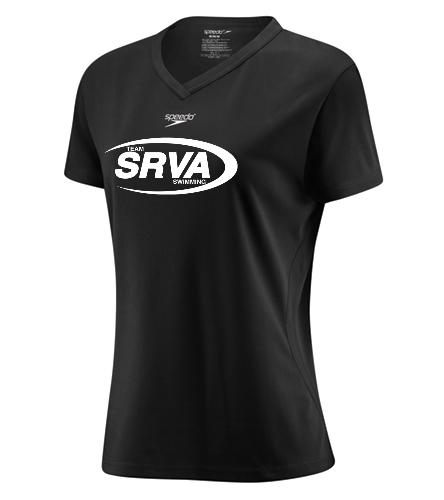 San Ramon Valley Aquatics- Black - Speedo Women's Tech Tee