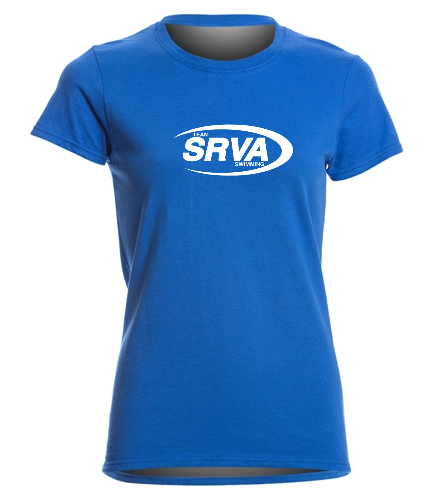 San Ramon Valley Aquatics -  Heavy Cotton Missy Fit T-Shirt