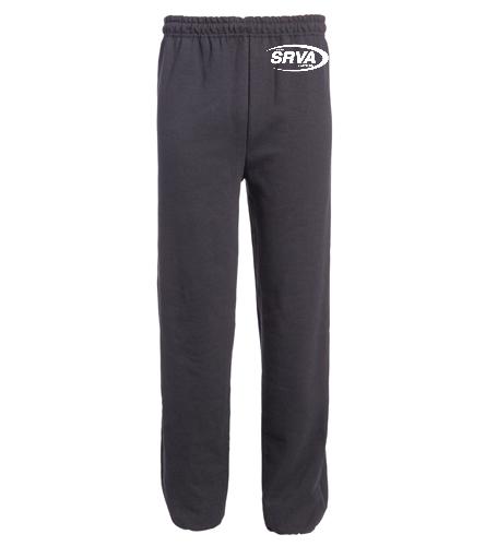 San Ramon Valley Aquatics  - Heavy Blend Adult Open Bottom Sweatpants