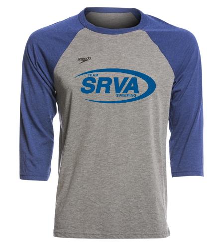 San Ramon Valley Aquatics - Speedo Unisex Baseball Tee Shirt