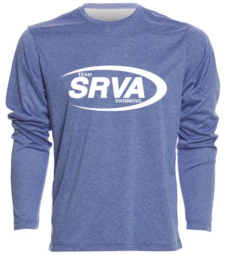 San Ramon Valley Aquatics - SwimOutlet Men's Long Sleeve Tech T Shirt