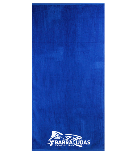 MidYBarracudas Towel Royal - Royal Comfort Terry Velour Beach Towel 32 X 64
