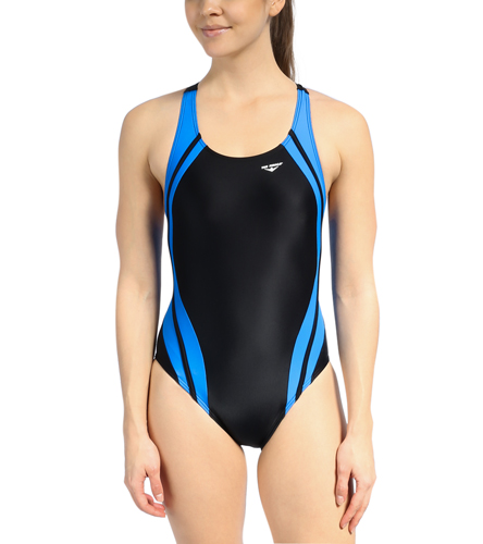 MidYBarracudas- female suit - The Finals Reactor Splice Competition Back One Piece Swimsuit