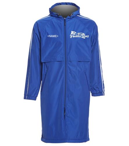 MIddlesex YMCA  - Sporti Striped Comfort Fleece-Lined Swim Parka